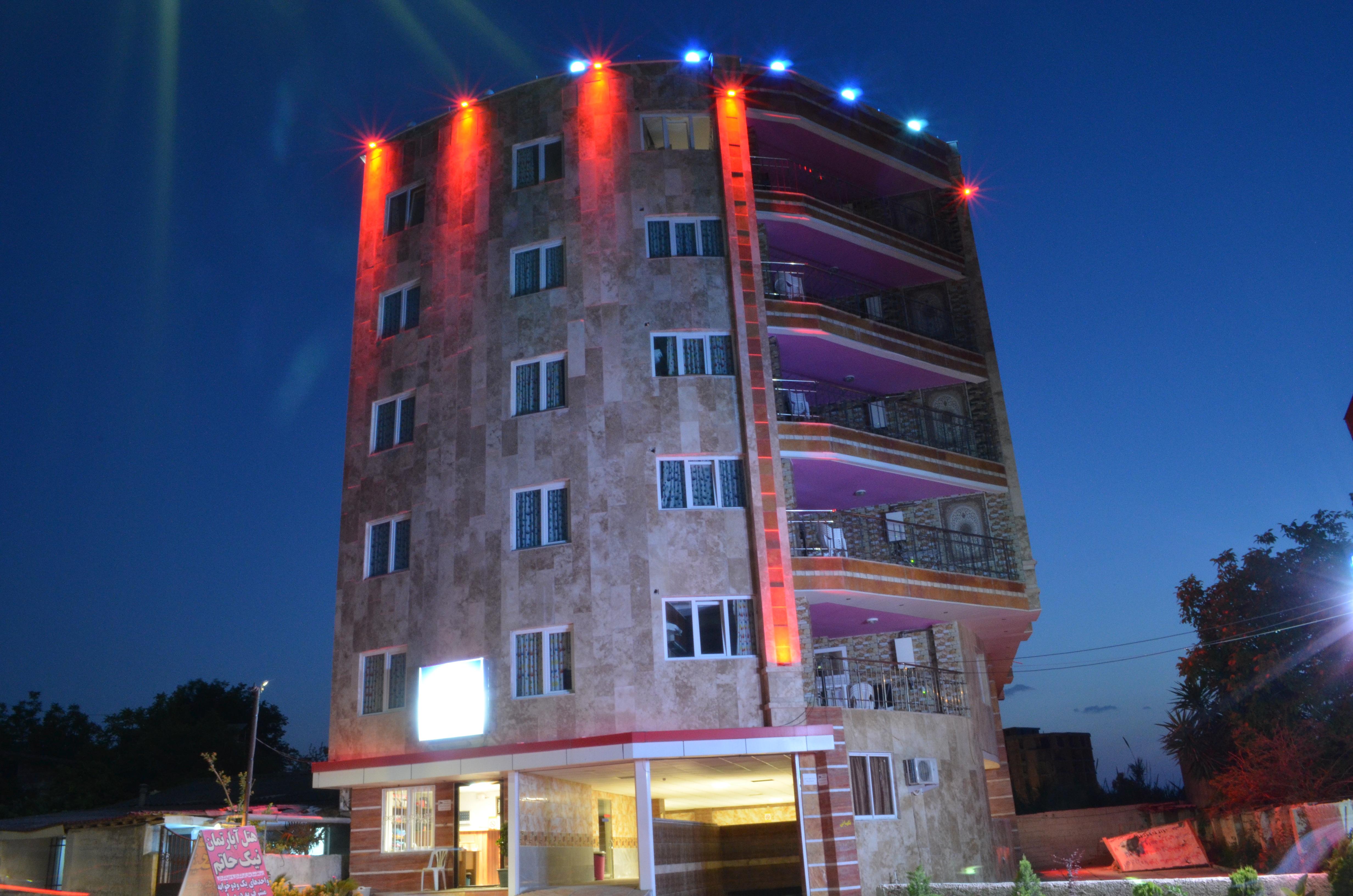 هتل اپارتمان چالوس نیک حاتم مازندران
